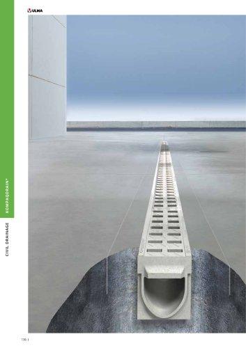 New compact channel KompaqDrain®