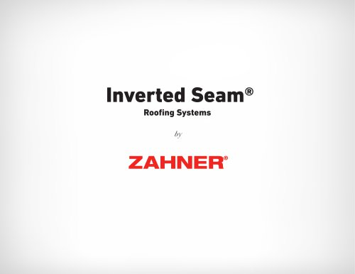Inverted Seam®