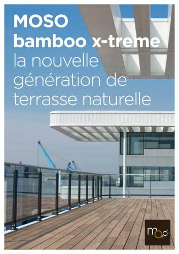 Bamboo X-treme - lame de terrasse