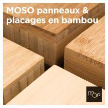 MOSO panneaux & placages en bambou