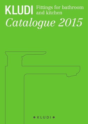 KLUDI Fittings for bathroom and kitchen Catalogue 2015