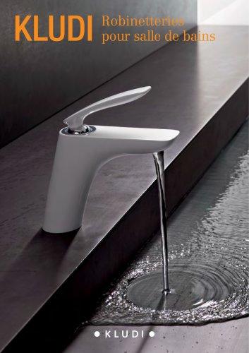 kludi: Robinetteries pour salle de bains