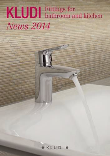News 2014: Fittings for bathroom and kitchen