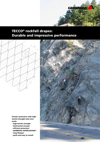 TECCO® rockfall drape