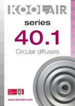 Circular diffusers – Series 40.1