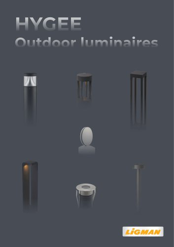 HYGEE Outdoor luminaires