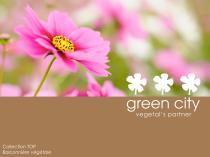 Catalogue mur à balconnière végétale TOP®