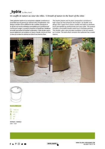 TF URBAN - bac de fleurissement HYDRIE - design by Marc Aurel.pdf