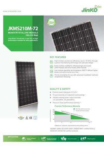 Wing Module(Compact Module):JKMS210M-72(190W~210W)