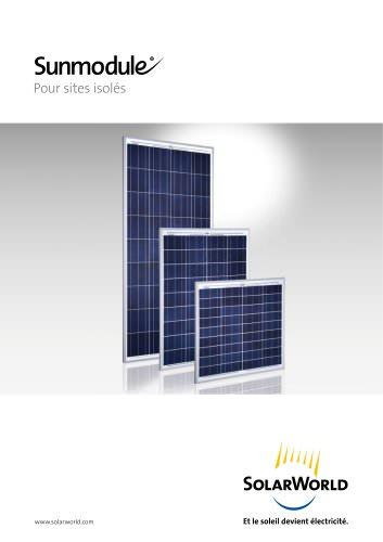 Sunmodule off-grid