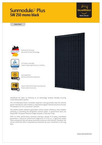 Sunmodule Plus SW 250 mono black