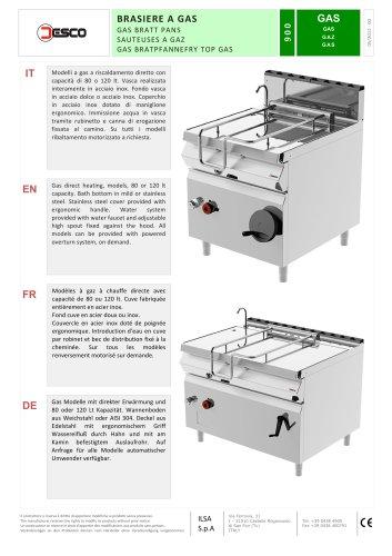 GASBRATT PANS - 900