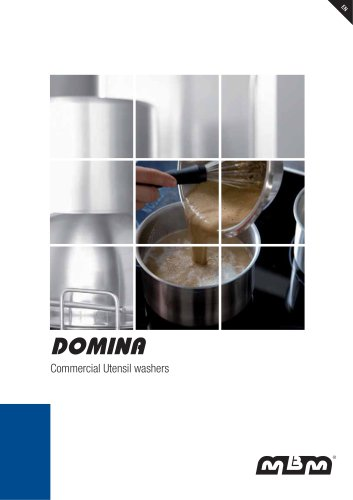DOMINA Commercial Utensil washers
