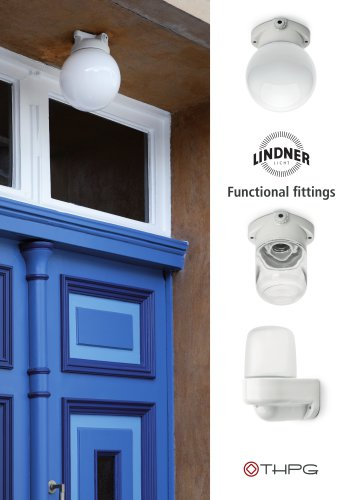 LINDNER LIGHT Functional fittings
