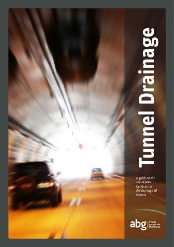 Cavidrain Tunnel Drainage