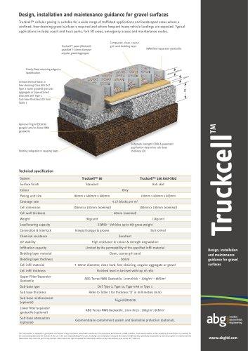 Truckcell - Gravel Finish