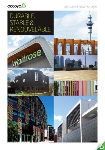 brochure-DURABLE,  STABLE &  RENOUVELABLE
