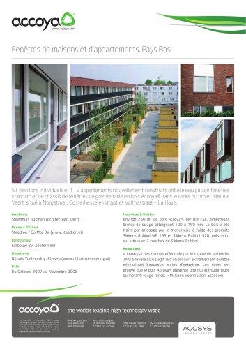 Fenêtres de maisons et d?appartements, Pays Bas