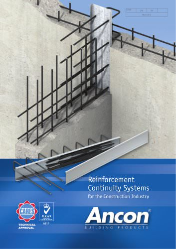 Eazistrip Reinforcement Continuity Systems