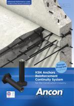 KSN Anchors  Reinforcement Continuity System