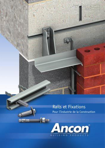 Rails et Fixations Pour l'Industrie de la Construction