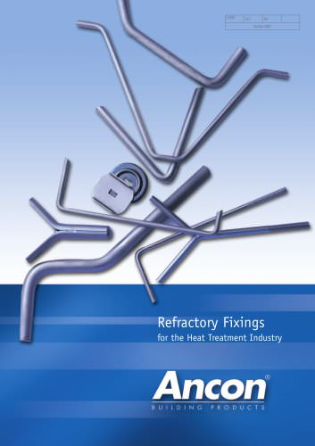 Refractory Fixings for the Heat Treatment Industry