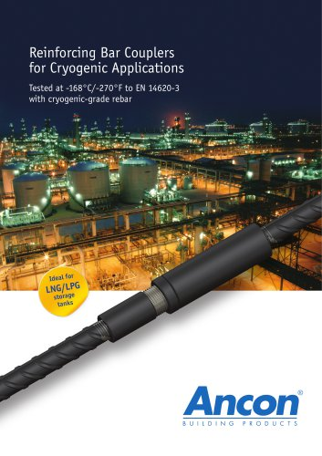 Reinforcing Bar Couplers for Cryogenic Applications