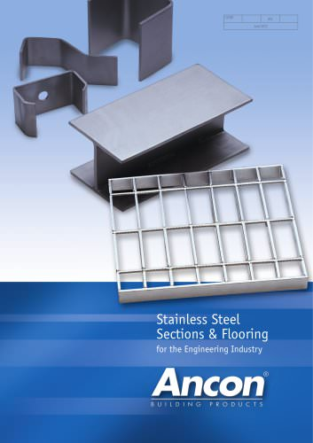Stainless Steel Sections and Flooring