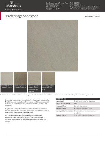Brownridge Sandstone
