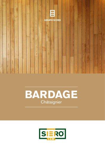 BARDAGE en Châtaignier