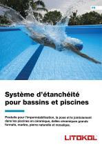 Système d'étanchéité pour bassins et piscines
