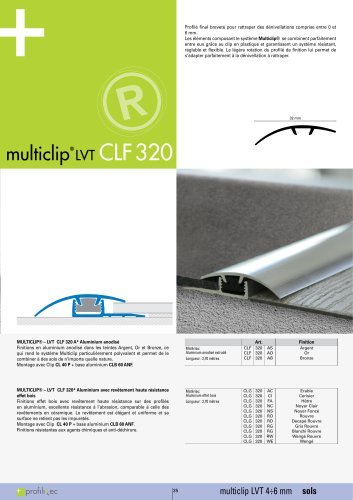 Multiclip LVT CLF320