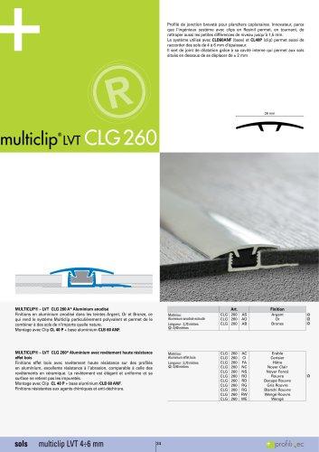 Multiclip LVT CLG260