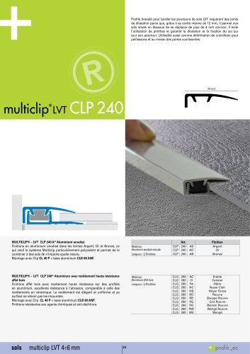 Multiclip LVT CLP240