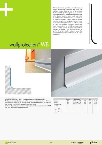 Wallprotection WB