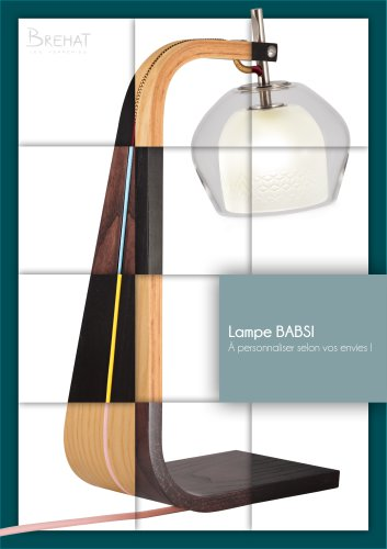 Lampe BABSI - Options de personnalisation