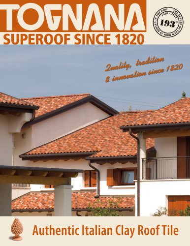 Authentic Italian Clay Roof Tile