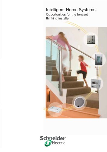 Intelligent Home Systems - Opportunities for the forward thinking installer