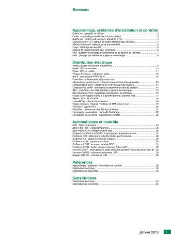 Nouvelles offres Janvier 2013