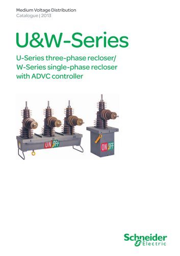 RL series load break switch/sectionaliser with ADVC controller
