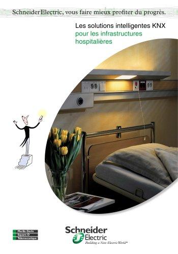 les solutions intelligentes KNX - Infrastructures hospitalières