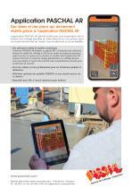 Application PASCHAL AR - Information sur le produit - 2