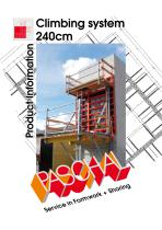 Climbing system 240cm - Product Information