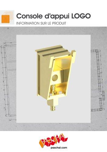 Console d'appui LOGO réglable - Information sur le produit