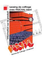 Leasing de coffrage avec PASCHAL Ident - Information sur le produit - 1