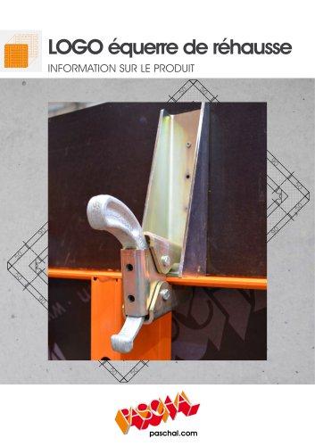 LOGO.3 Equerre de rehausse 25 cm - Information sur le produit