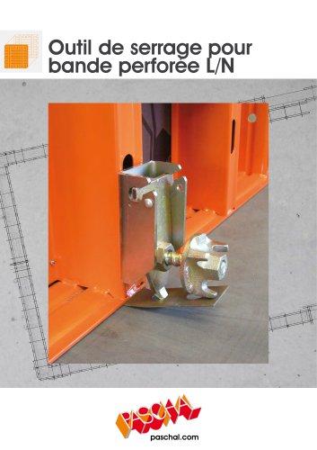 l'Outil de serrage pour bande perforée LOGO - Information sur le produit