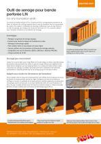 l'Outil de serrage pour bande perforée LOGO - Information sur le produit - 2