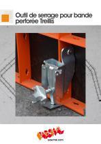 Outil de serrage pour bande perforée Treillis - Information sur le produit - 1