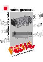 Palette gerbable - Information sur le produit - 1